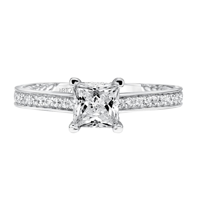 ArtCarved ArtCarved Keira Diamond Engagement Mounting