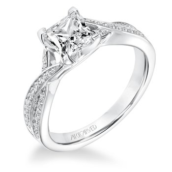 ArtCarved London Diamond Engagement Mounting