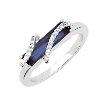 Alexandrite Ring-CR13114WAL