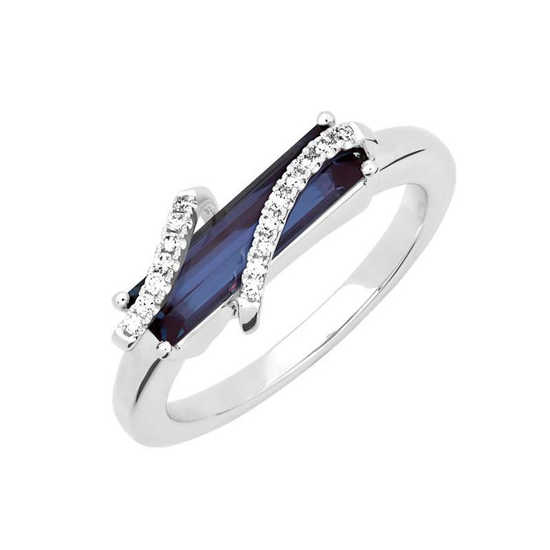 Chatham Alexandrite Ring-CR13114WAL
