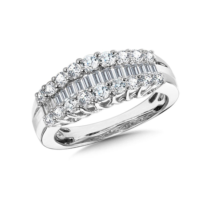 Plumb Collection Diamond Anniversary Band