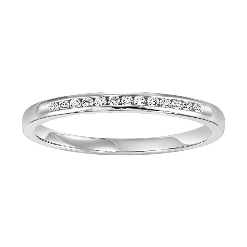 Bridal Bells 14K Diamond Band 1/10 ctw