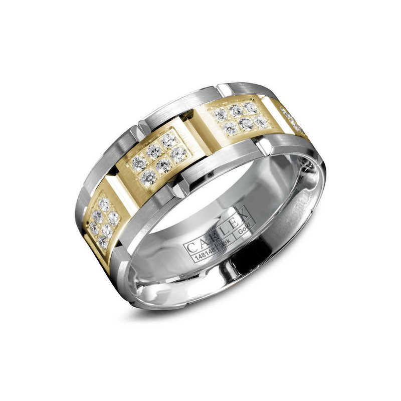Carlex Carlex Generation 1 Mens Ring WB-9155YW