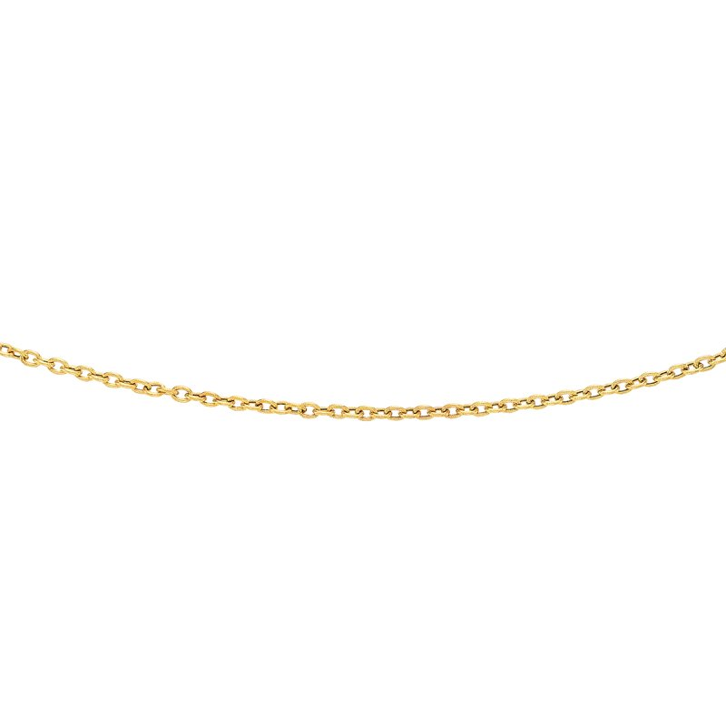 Royal Chain 14K Gold 3.5mm Textured Cable Chain