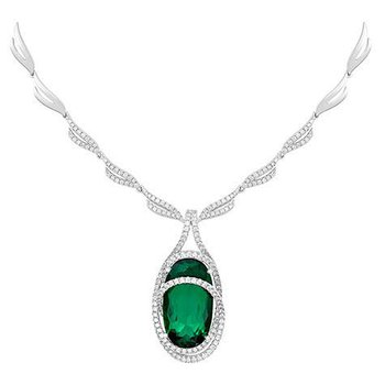 Emerald Necklace-CN0257WEM