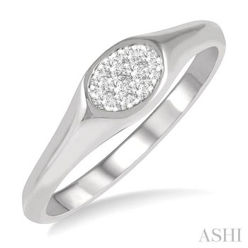 oval shape lovebright essential diamond promise ring