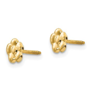 14k Madi K Flower Post Earrings