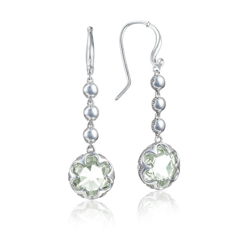 Tacori Fashion Cascading Drop Earrings featuring Prasiolite