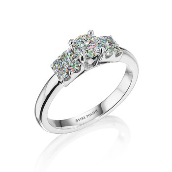 Engagement Ring  7/8 CTTW