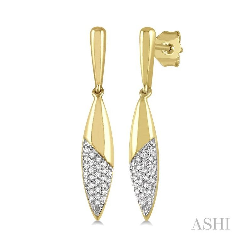 Gemstone Collection diamond fashion earrings