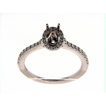 14K ROSEGOLD RING 36RD 0.21CT
