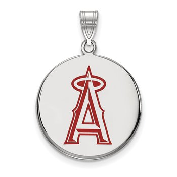 Sterling Silver Los Angeles Angels MLB Pendant