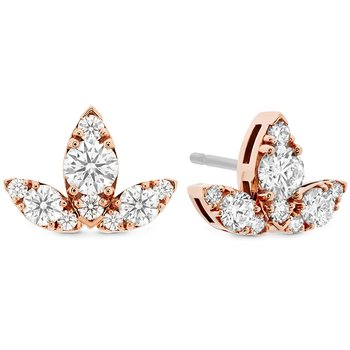 1.15 ctw. Aerial Triple Diamond Stud Earrings - L