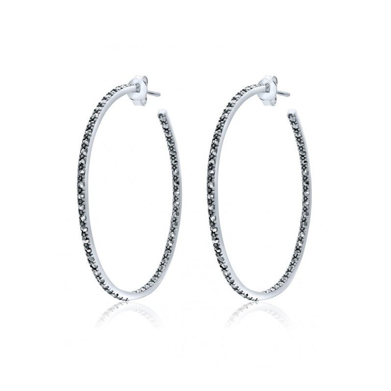 LARUS Jewelry Classic Hoop Earrings