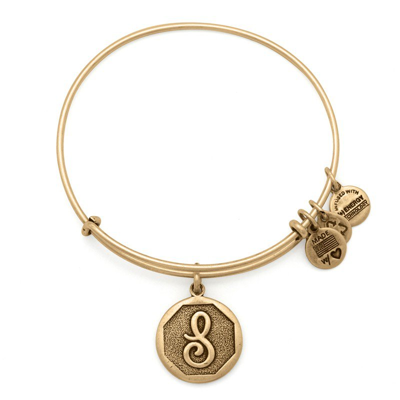 Alex and Ani INITIAL S EWB, RG