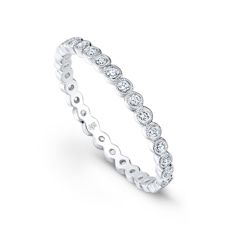 Beverley K Bezel Diamond Eternity Band