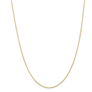 18k Leslie's 1.10mm Singapore Chain