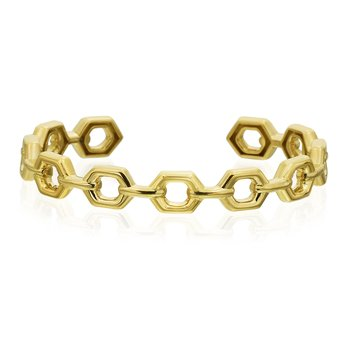 "Honeybee ""B"" Collection  Cuff Bracelet"