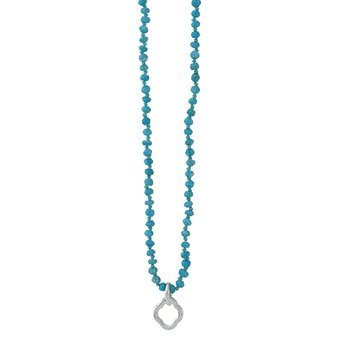 Little Clipper Necklace - Turquoise