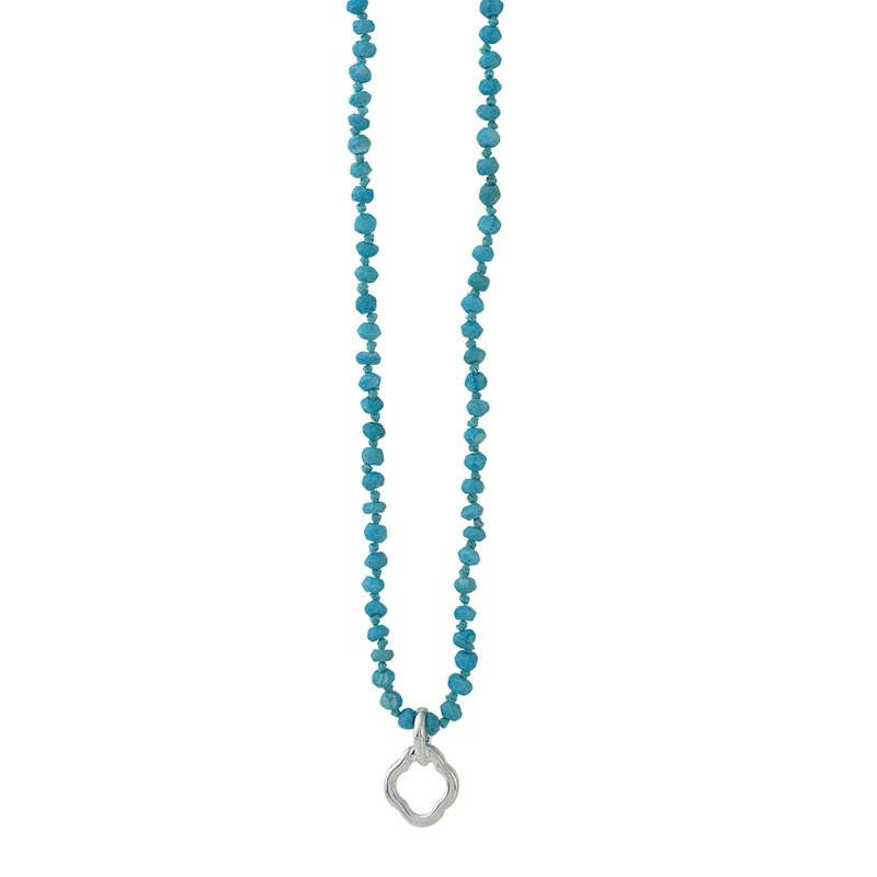 Waxing Poetic Little Clipper Necklace - Turquoise
