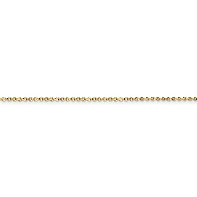 Arizona Diamond Center Collection 14k 1.4mm Solid Polished Cable Chain Anklet
