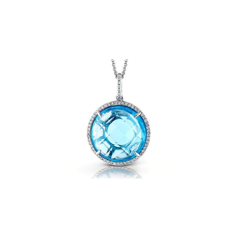 Zeghani ZP647 COLOR PENDANT