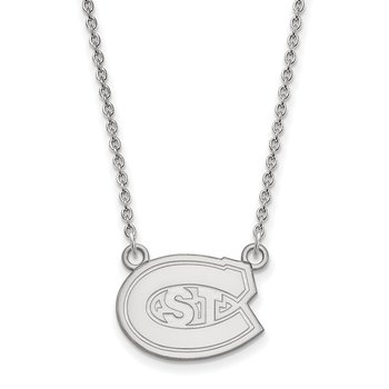 Gold St. Cloud State University NCAA Necklace