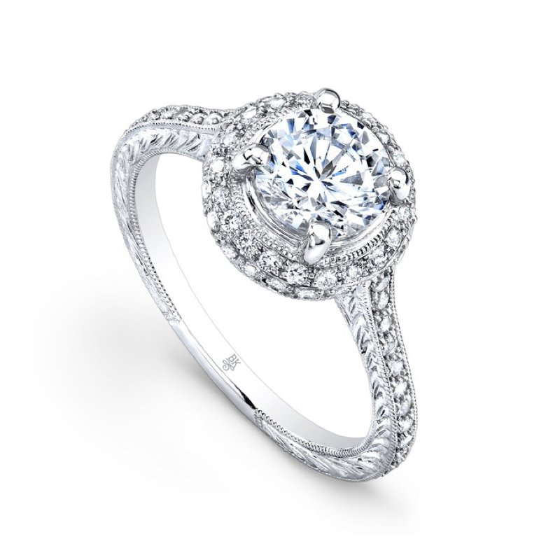 Beverley K Halo Bridal Ring