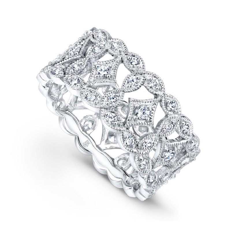 Beverley K Marquise Diamond Band