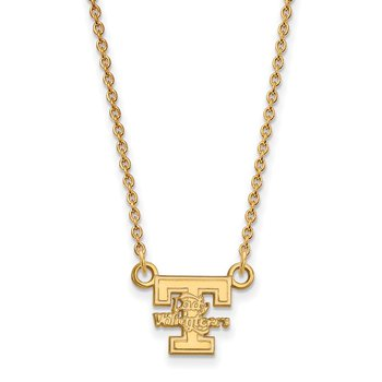 Gold-Plated Sterling Silver University of Tennessee NCAA Necklace