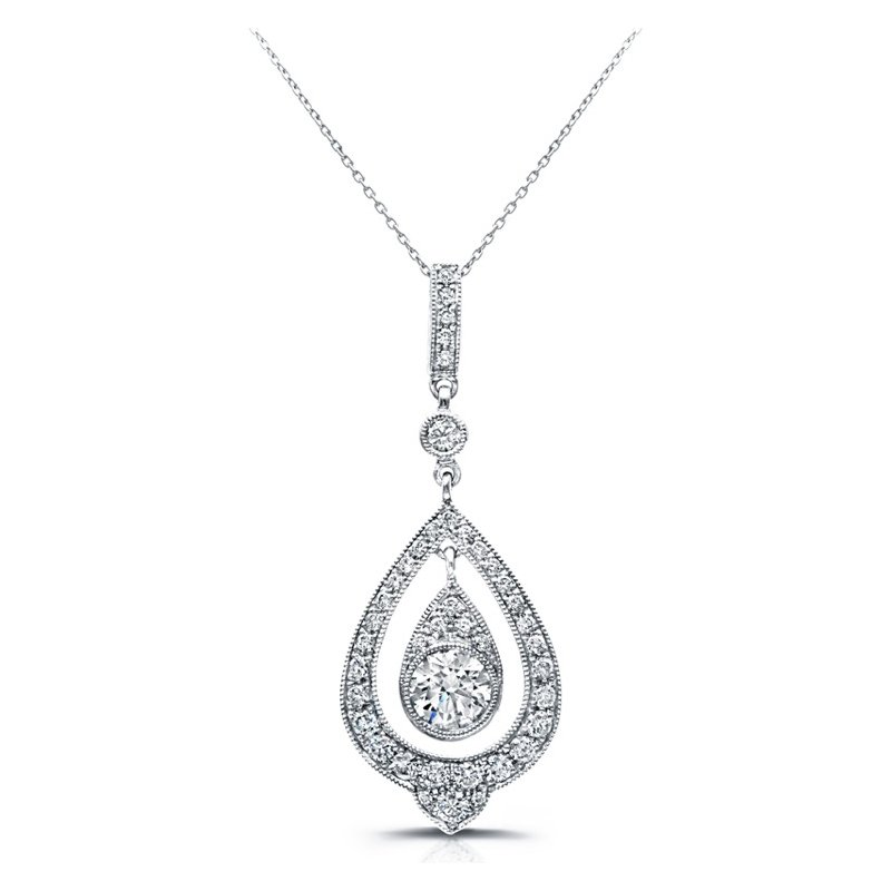Hurdle S Jewelry Beverley K Teardrop Diamond Pendant