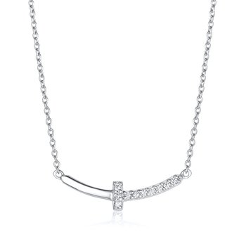 Cross Bar Necklace