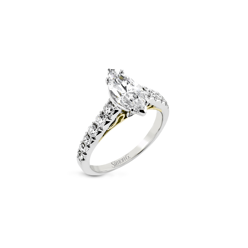 Simon G LP2356-MQ ENGAGEMENT RING