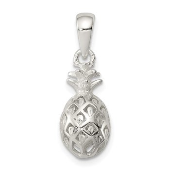 Sterling Silver Pineapple Pendant