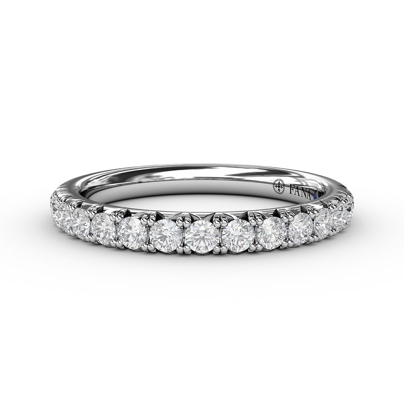 Fana 1/2ct French Pave Set Anniversary Band