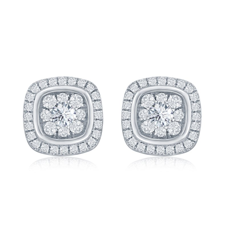 Veer Diamonds MELODY CUSHION STUDS