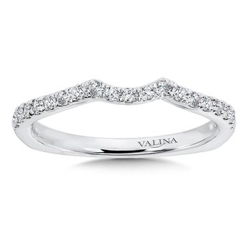 Diamond and 14K White Gold Wedding Ring (0.24 ct. tw.)