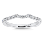 Valina Diamond and 14K White Gold Wedding Ring (0.24 ct. tw.)