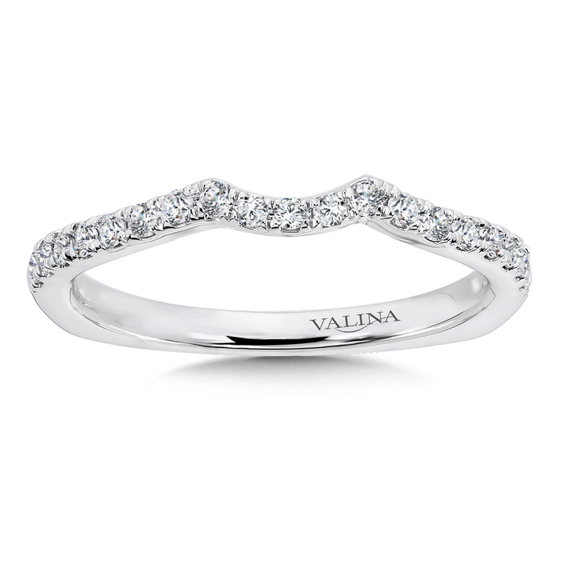 Valina Bridals Diamond and 14K White Gold Wedding Ring (0.24 ct. tw.)