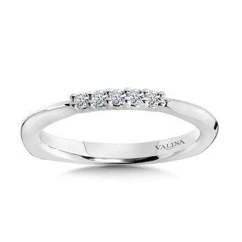 Five-Stone Diamond Wedding Band