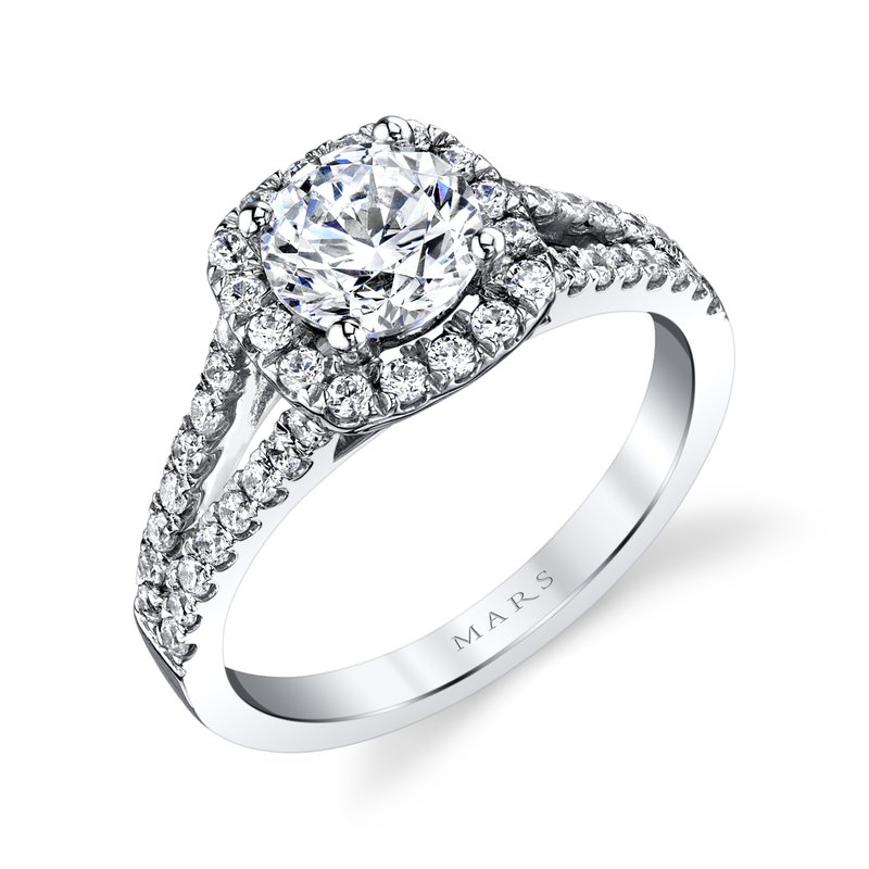 MARS Jewelry - Engagement Ring 25563-R100