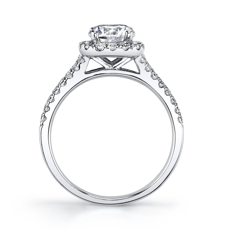 MARS 25563-R100 Engagement Ring, 0.46 Ctw.
