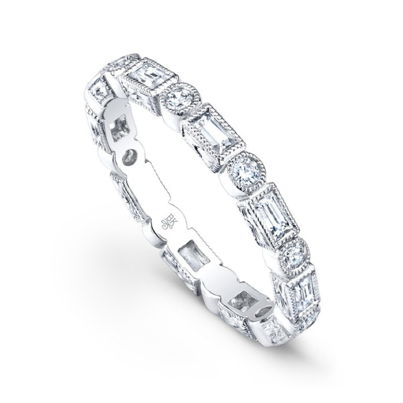 Beverley K Diamond Baguette Band