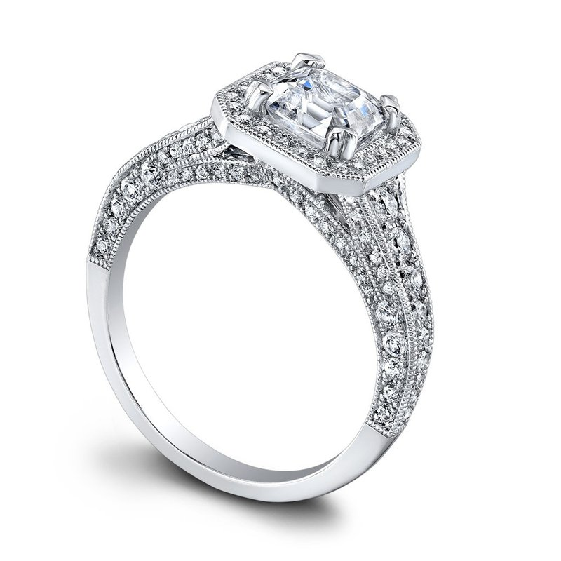 Jeff Cooper Heather Engagement Ring