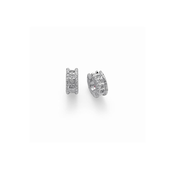 Cento Florentine Huggie Earrings