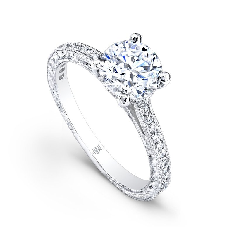 Single Shank Bridal Ring
