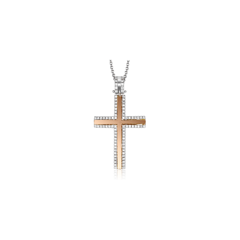 Simon G LP4430 CROSS PENDANT