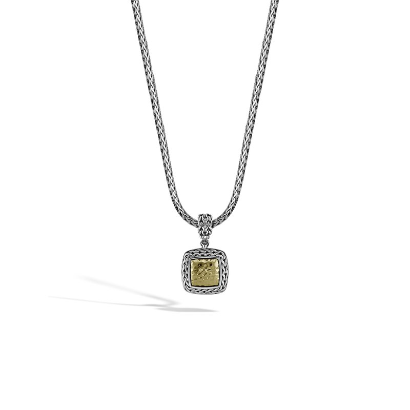 John Hardy Classic Chain Medium Square Pendant
