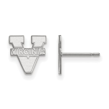 Sterling Silver University of Virginia NCAA Earrings