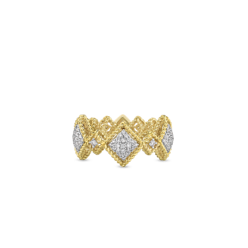 18KT GOLD LARGE DIAMOND RING
